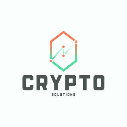 Logo Maker for Cryptocurrency Financial Advisors 4109c