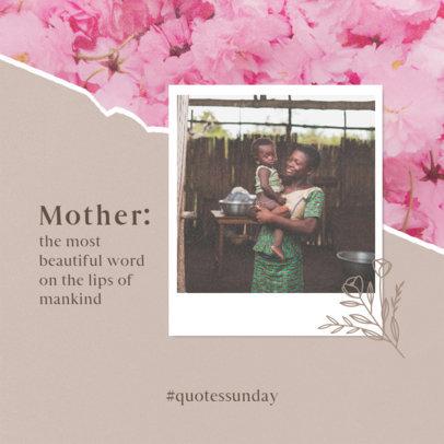 Instagram Post Maker for a Mother's Day Celebration  3980f