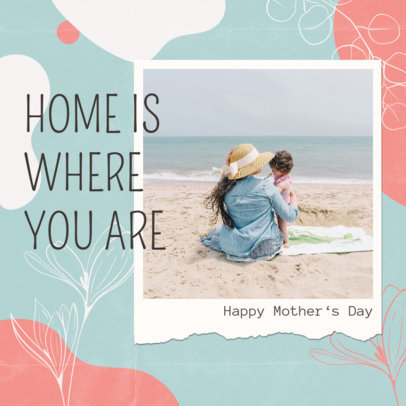 Mother's Day Instagram Post Creator with a Framed Picture 3479b