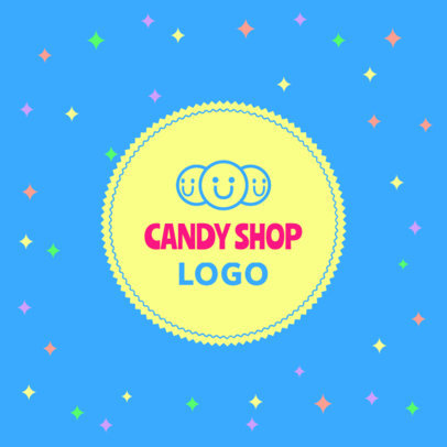 Logo Generator for a Candy Shop Featuring a Cute Aesthetic 1389f-4136