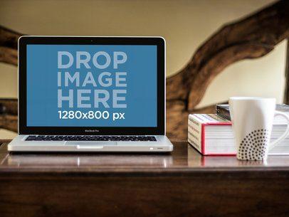 MacBook Pro On Coffee Table