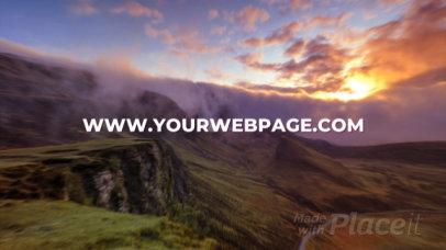 Dynamic Intro Video Maker Featuring Natural Landscapes 2739-el1
