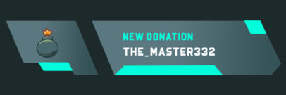 Twitch Alert Box Maker for New Donations 3695c-el1