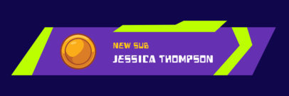 Twitch Alert Box Template for a Donation Message with a Coin Icon 3696d-el1
