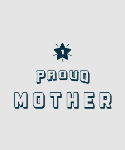 Sports-Themed T-Shirt Design Generator for a Proud Mother 3514f