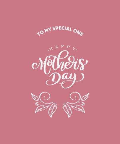 T-Shirt Design Maker to Celebrate Mother's Day 3723e-el1