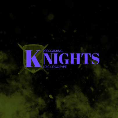 Gaming Typography Logo Generator Inspired by the Hyrule Knights 4207k