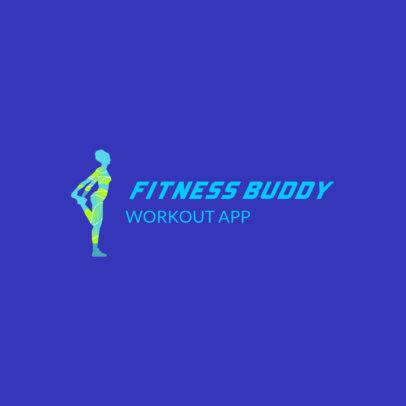 Cool Logo Maker for a Fitness App 4223