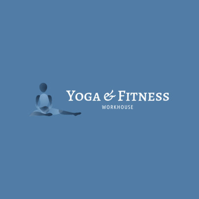 Logo Maker for a Yoga and Fitness Studio 4221