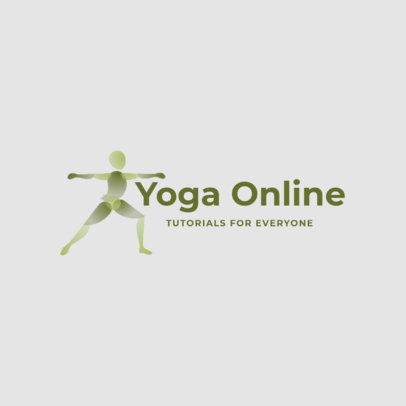 Logo Generator for an Online Yoga Business 4221b
