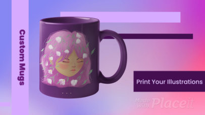 Product Catalog Video Template for Customized Mugs 1266e 3102