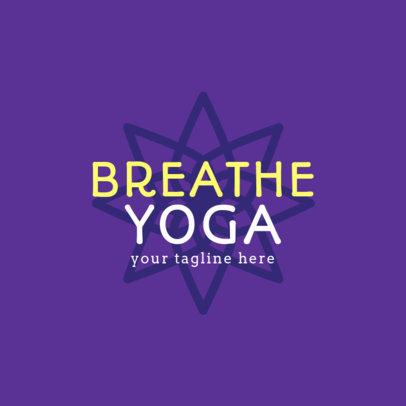 Minimal Logo Maker for a Yoga Studio 1360b-4172