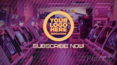 Intro Video Template with Retro Arcade Machines 2803-el1