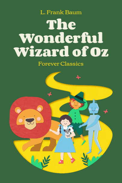 Book Cover Design Generator for a Kids' Classics Collection 3565c