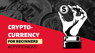 YouTube Thumbnail Design Maker Featuring Cryptocurrency-Themed Graphics 3585