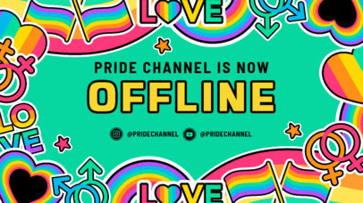 Fun Twitch Banner Generator for an LGBTQ Channel 3586i