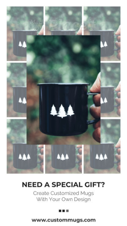 Instagram Story Video Creator for a POD Mug Store 1547b 3055-el1