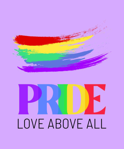 Powerful T-Shirt Design Maker for LGBTQ Pride Month 3591f