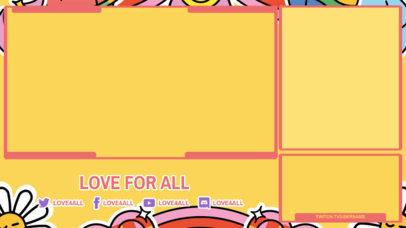 Colorful Twitch Overlay Generator for LGBTQ Streamers 3586f
