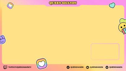 Fun Twitch Overlay Maker For An LGBTQ Gaming Streamer 3587a