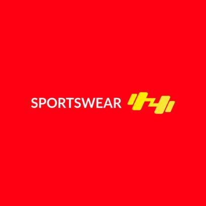 Logo Maker for Sportswear Dropshippers 4251A