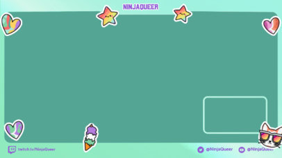 Colorful Twitch Overlay Creator Celebrating Genderqueer Pride 3587b