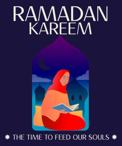 T-Shirt Design Maker Featuring Ramadan Illustrations 3616