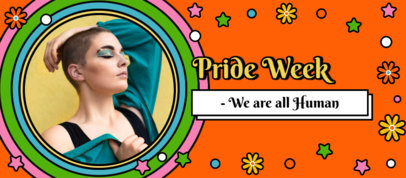 LGBT-Themed Facebook Cover Template With Pictures and Colorful Backgrounds 3607i