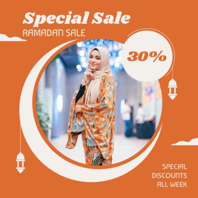Instagram Post Maker to Announce a Ramadan Special Sale 3881g-el1