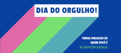 Facebook Cover Generator Featuring a Portuguese Text and a Pride Month Theme 3608c