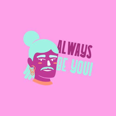 Twitch Emote Logo Generator Featuring an LGBT Avatar 4287l