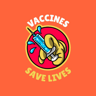 T-Shirt Design Generator for a COVID-19 Vaccine Awareness 4278k