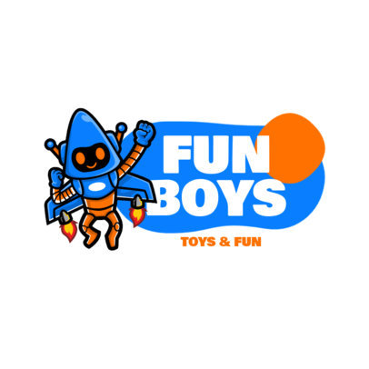 Online Logo Maker for a Toy Store with a Fun Character 3870-el1