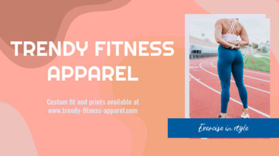YouTube Thumbnail Template for Sportswear Brands 3636c